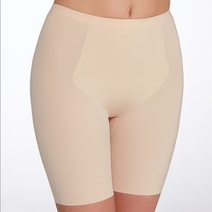 SPANX Nude Beige Medium Control Shaper Shorts XL